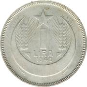 1 Lira – reverse