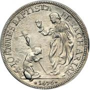 ½ Piastra - Cosimo III – reverse