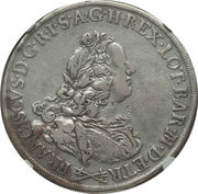 1 Francescone - Francesco III – obverse