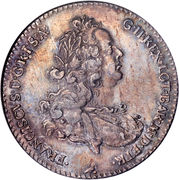 1 Francescone - Francis I – obverse