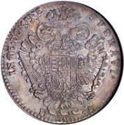 1 Francescone - Francis I – reverse