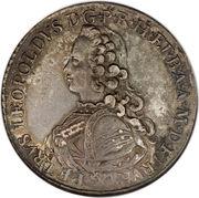 1 Francescone - Pietro Leopoldo (2nd type) – obverse
