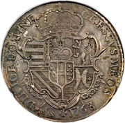 1 Francescone - Pietro Leopoldo (2nd type) – reverse