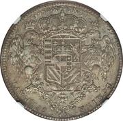 1 Tallero - Pietro Leopoldo – reverse