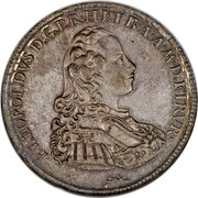 """1 Francescone - Pietro Leopoldo (""""Siries"""" type) – obverse"""