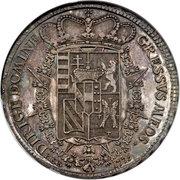 "1 Francescone - Pietro Leopoldo (""Siries"" type) – reverse"