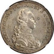 "1 Francescone - Pietro Leopoldo (""Codino"" type) – obverse"