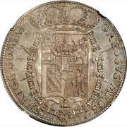 "1 Francescone - Pietro Leopoldo (""Codino"" type) – reverse"