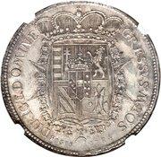 1 Francescone - Pietro Leopoldo – reverse