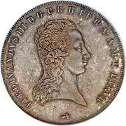 1 Francescone - Ferdinando III – obverse