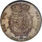 1 Francescone - Ferdinand III – reverse