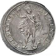 1 Piastra - Cosimo II – reverse