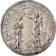 1 Piastre - Cosimo III – reverse