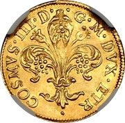 1 Florin - Cosimo III – obverse