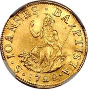 1 Florin - Cosimo III – reverse