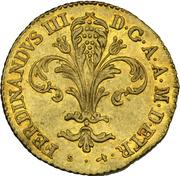 1 Zecchino - Ferdinando III – obverse
