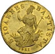 1 Zecchino - Ferdinando III – reverse