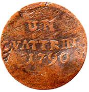 1 Quattrino - Pietro Leopoldo – reverse