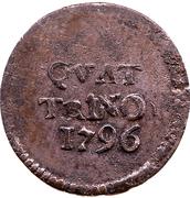 1 Quattrino - Ferdinando III – reverse