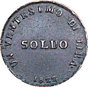 1 Soldo - Ferdinando III – reverse