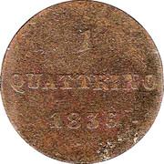 1 Quattrino - Leopoldo II – reverse