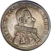 Piastra - Ferdinando II (6th series) – obverse
