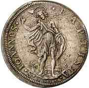 1 Piastre - Ferdinand II – reverse