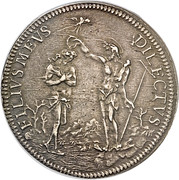 Piastra - Cosimo III – reverse
