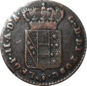 1 Quattrino - Leopoldo II – obverse