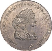 10 Lire - Charles Louis (1st type) – obverse