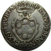 1 Giulio - Francesco de' Medici – obverse