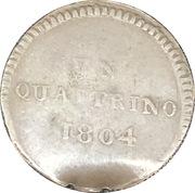 1 Quattrino - Louis I – obverse