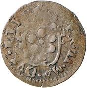 1 Quattrino - Ferdinando II de' Medici (Second Series) – obverse