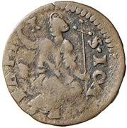 1 Quattrino - Ferdinando II de' Medici (Second Series) – reverse
