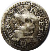¼ Giulio - Ferdinando I (1st series) – obverse