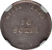 10 Soldi - Ferdinando III – reverse