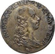 1 Paolo - Pietro Leopoldo (2nd series) – obverse
