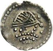 ½ Siliqua - In the name of Heraclius, 610-641 – obverse