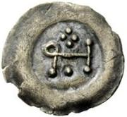 ½ Siliqua - In the name of Heraclius, 610-641 – reverse