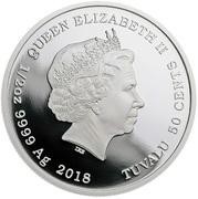 50 Cents - Elizabeth II (Sylvester) – obverse
