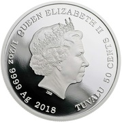 50 Cents - Elizabeth II (Tasmanian Devil) – obverse