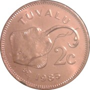 2 Cents - Elizabeth II (2nd portrait) – reverse