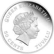 50 Cents - Elizabeth II (Year of the Dragon) – obverse