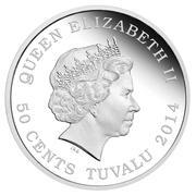 50 Cents - Elizabeth II (Year of the Horse - Longevity) -  obverse