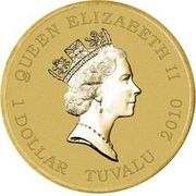 1 Dollar - Elizabeth II (Blackbeard) -  obverse