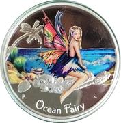 50 Cents - Elizabeth II (Ocean Fairy) – reverse
