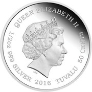 50 Cents - Elizabeth II (Lynx Cubs) – obverse