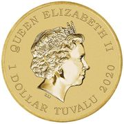 1 Dollar - Elizabeth II (Jerry) -  obverse