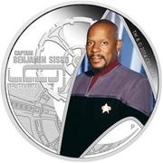 1 Dollar - Elizabeth II (Deep Space Nine: Captain Benjamin Sisko) -  obverse