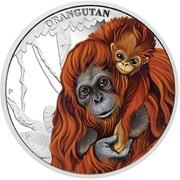50 Cents - Elizabeth II (Orangutan) – reverse